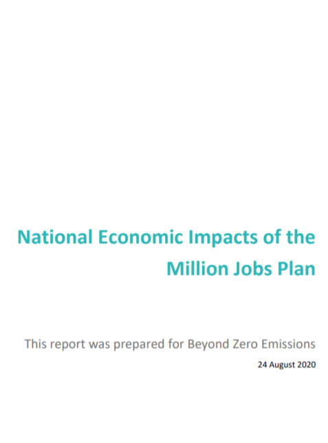 National Economic Impacts of the Million Jobs Plan by Chris Murphy