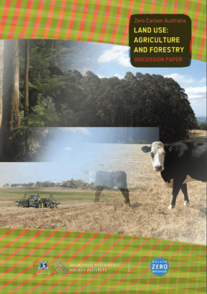 Land Use: Agriculture and Forestry - Discussion Paper